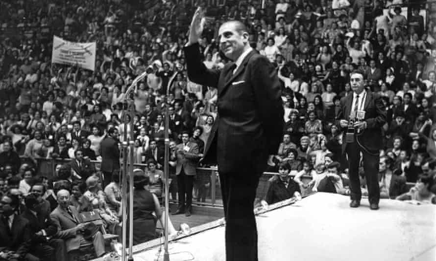 Eduardo Frei Montalva in this undated photo. Frei had initially supported Pinochet and the coup that overthrew Allende but later soured on the dictatorship.