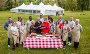 The most lovely yet? … The Great British Bake Off.