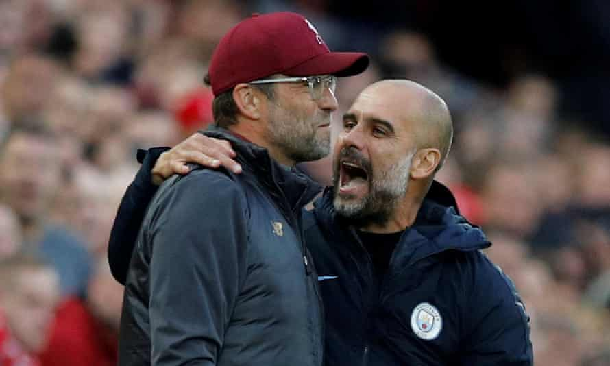 Jürgen Klopp and Pep Guardiola, coaches with contrasting styles tweaked to combat the other's. What will they come up with next?