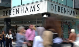 Ailing Debenhams is 30% owned by Sports Direct