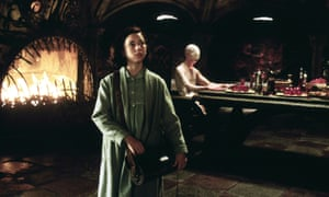 Ivana Baquero and Doug Jones in Pan's Labyrinth.