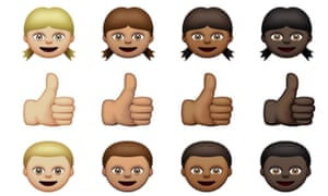 Apple worked with the Unicode Consortium to introduce more diverse emoji