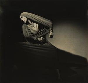 Martha Graham, Lamentation (oblique) 1936Barbara Morgan was famed for her portraits of professional dancers, and co-founded the influential photography magazine Aperture