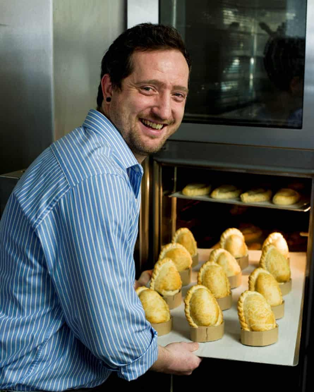Cornish Bakery founder Steve Grocutt