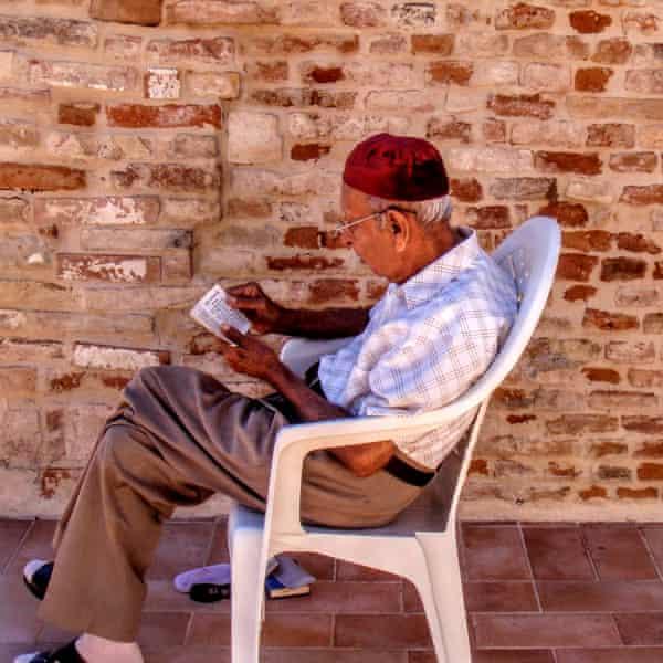 Pestonjee Pader, Shaun Walker's grandfather, in 2010.