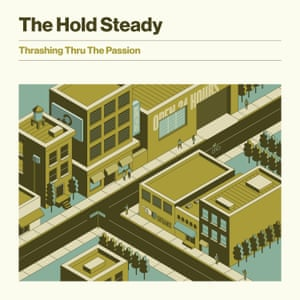 The Hold Steady: Thrashing Thru the Passion album artwork