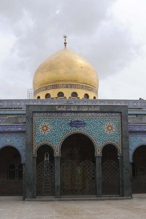 The Sayidda Zeinab shrine in Damascus revered by Shia Muslims.