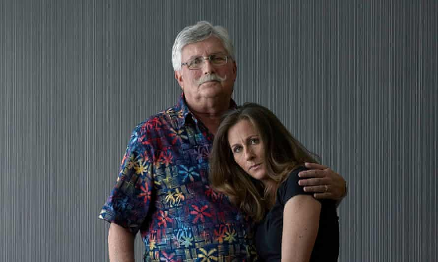 Fred and Kim Goldman, father and sister of Ron Goldman