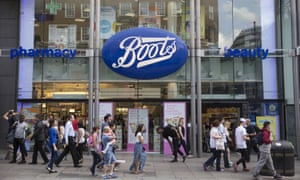Boots branch in London