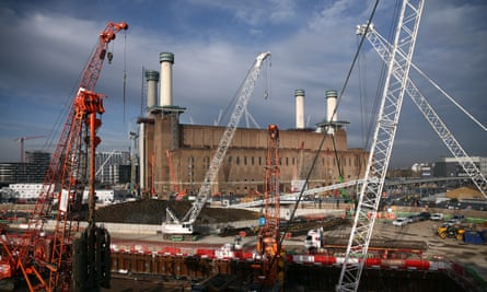 Carillion is currently working on the redevelopment of Battersea power station.