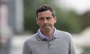 Jack Ross looks dejected during Sunderland's defeat at Lincoln City at the weekend.