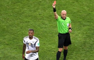 Jérôme Boateng is put out of his misery.