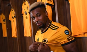Adama Traoré said signing for Wolverhampton Wanderers was 'a great day for me and my family'.