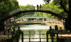 Canal Saint-Martin, Paris