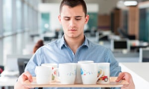 Making tea is a life skill that can take an intern far in life – it shows willingness to make yourself useful.