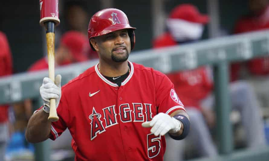Albert Pujols is nearing the end of a huge contract with the Angels