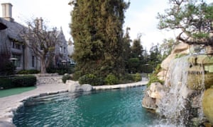 A view of the Playboy Mansion