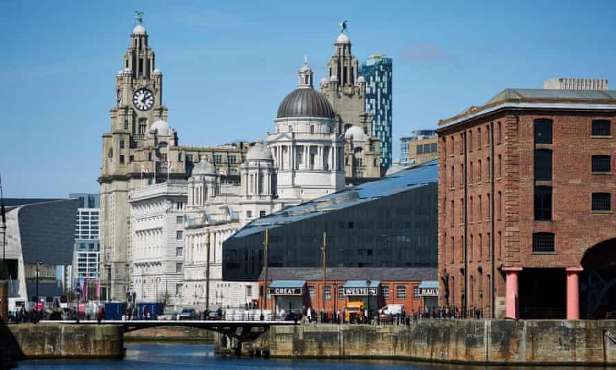 A view across the Albert Dock, Liverpool