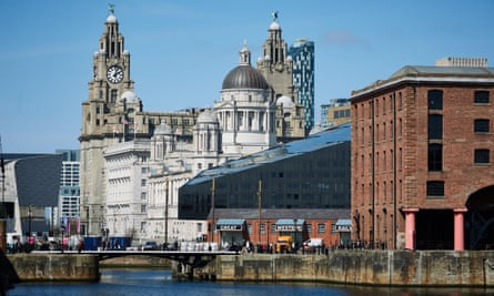 Birds of a feather: the Royal Liver Building.