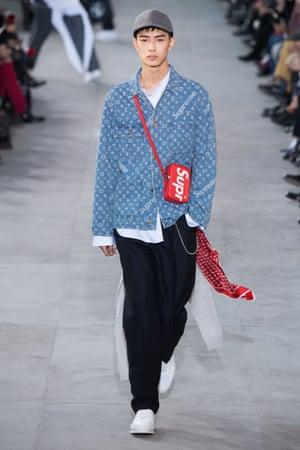 The influence on the Louis Vuitton autumn/winter 2017catwalk.