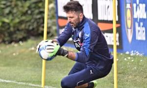 Gianluigi Buffon is nearing 40 but his reflexes remain as sharp as ever.