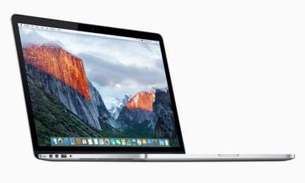Apple's retina 15in MacBook Pro