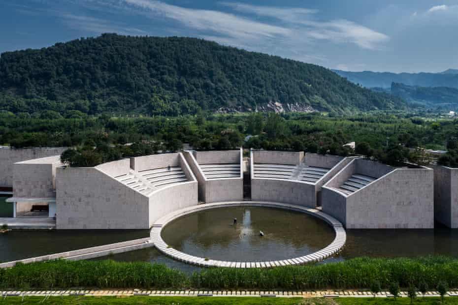 Revitalización rural ... una instalación de agua.