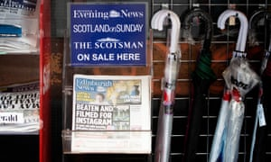 Scotland, where JPI Media owns titles including the Scotsman, Scotland on Sunday and the Edinburgh Evening News, could pose competition issues for Newsquest.