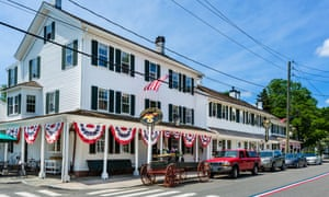 The Griswold Inn on Main Street in the old town, Essex, Connecticut
