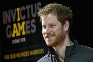 Prince Harry at the Invictus Games Sydney 2018 launch event at the Overseas Passenger Terminal in Sydney