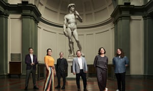 "'I was like, ""I'm screwed!""': Australian students and alumni of the University of Melbourne have been commissioned to reimagine Michelangelo's David."