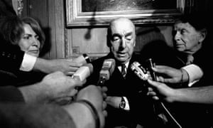 Pablo Neruda died in hospital of natural causes in 1973, according to official records, but many believe he was killed by the incoming Pinochet regime.