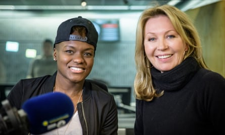 Boxer Nicola Adams and Desert Island Discs presenter Kirsty Young