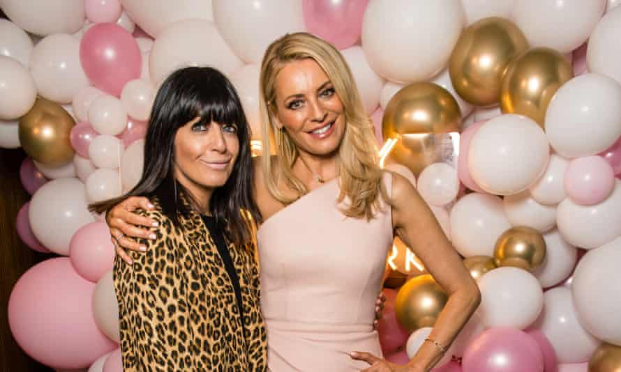 Winkleman with her Strictly co-host Tess Daly.