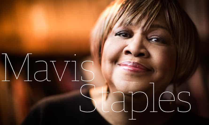 Time for more love … Mavis Staples.