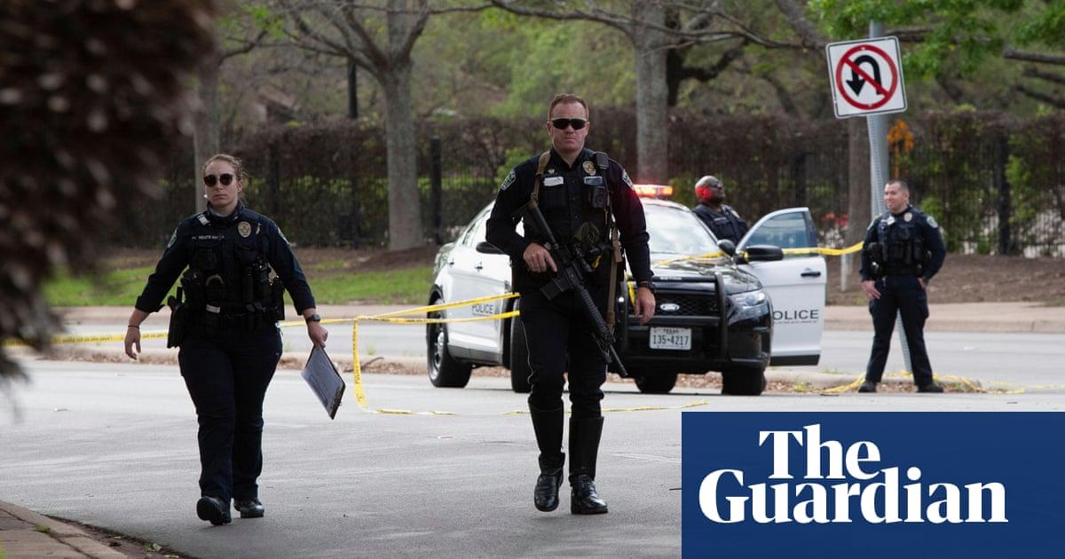 Texas shooting: fugitive in custody after three people killed in Austin