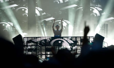 Baauer live in Santiago, Chile
