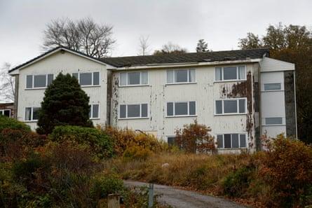 The Stewart hotel in Scotland, where trafficked Bangladeshi men worked