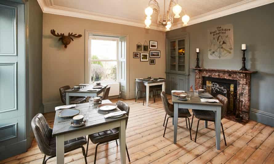 House at Hawes breakfast room