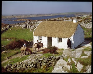 Thatched Cottage, Connemara, Co Galway by John HindeThe Irish Museum of Modern Art, in 1993, presented a retrospective of Hinde's work, in recognition of his remarkable artistic contribution.