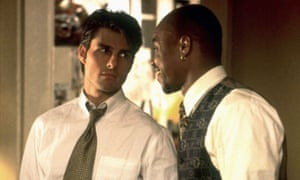 Tom Cruise and Cuba Gooding Jr in Jerry Maguire.