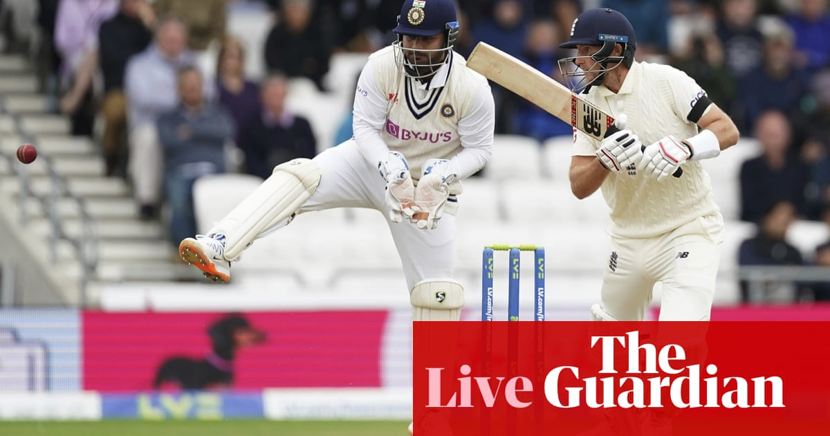 England v India: third Test, day two – live!