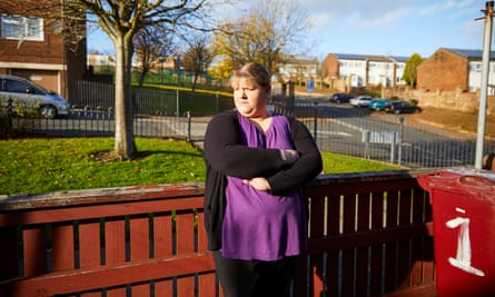 Laura Dawson, who is one of about a dozen white people in Whalley Range.