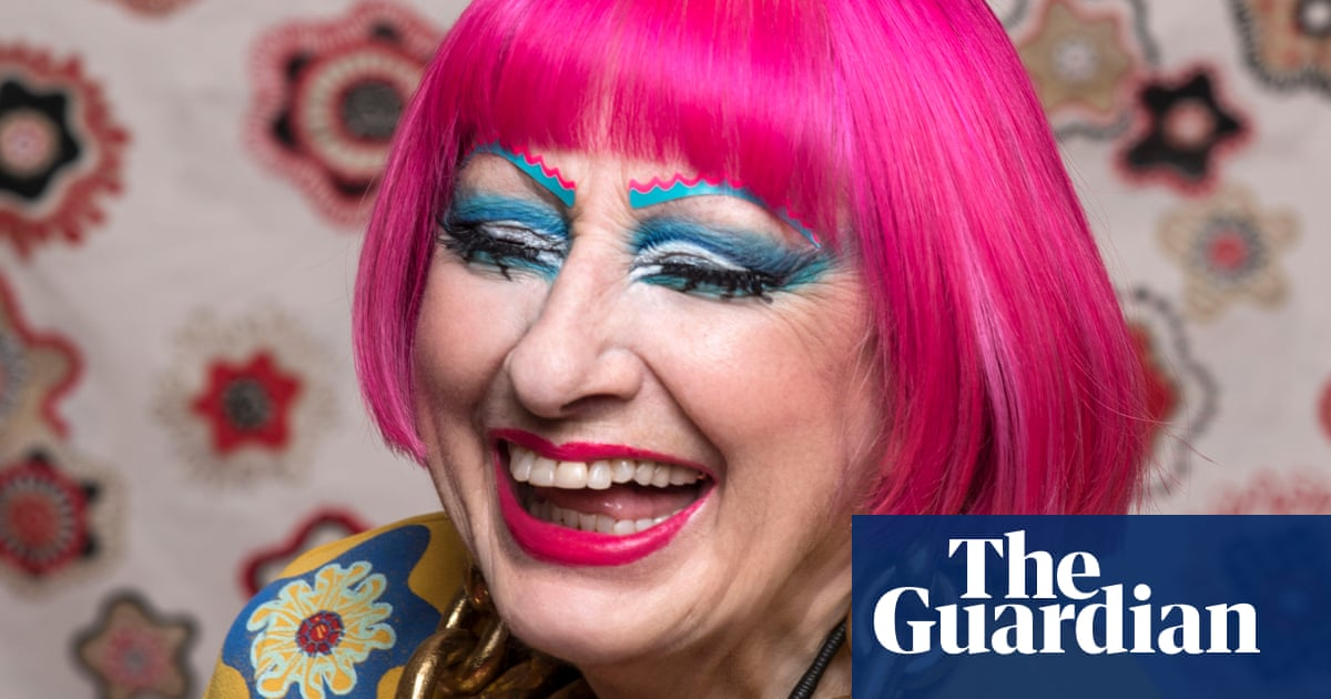Zandra Rhodes: 'A secret? My hair isn't naturally pink'