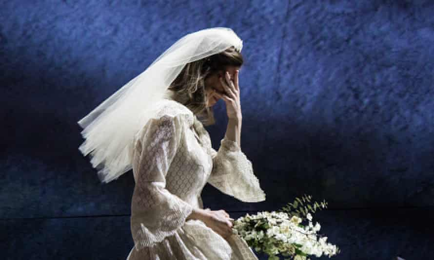 The bride stripped bare: Soprano Kiera Duffy as Bess McNeill