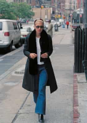 Carolyn Bessette Kennedy in the 90s.