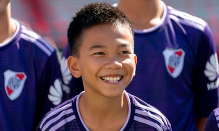 Chanin Vibulrungruang, one of the boys rescued from the Tham Luang cave in Thailand