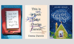 Dust jackets of the books chosen