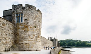 People-watch from your turret: Bath Tower, Gwynedd.