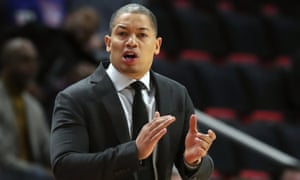 Tyronn Lue went 128-83 in parts of four seasons as coach of the Cleveland Cavaliers, taking over at the midpoint of the 2015-16 season and leading them to their first NBA title.